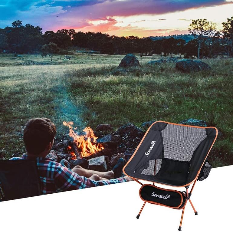 Scoop camping chair