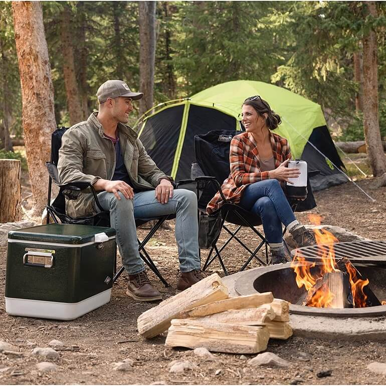 Slingback camping chair