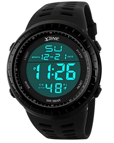 SNE Digital Sports Outdoor Watch Water-Resistant
