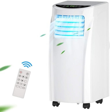 Costway Air Conditioner with Remote Control and Dehumidifier
