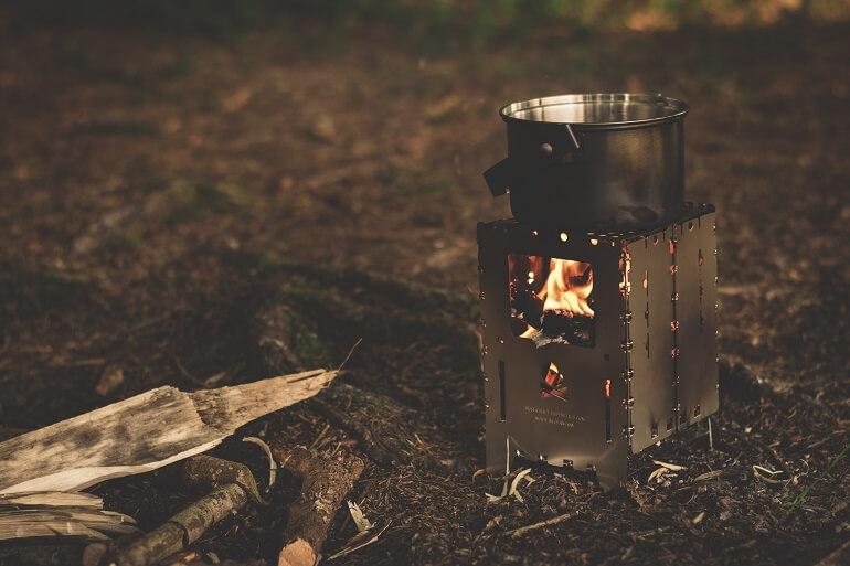 wood burning pocket stove