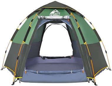 Hewolf Instant Camping Tent for 2-3 Persons