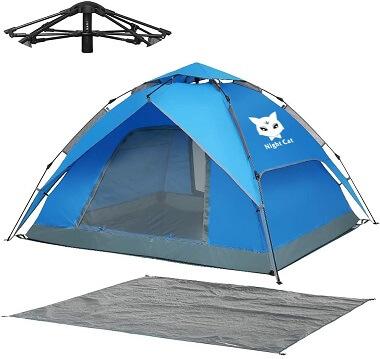 Night Cat Waterproof Pop-Up Tent