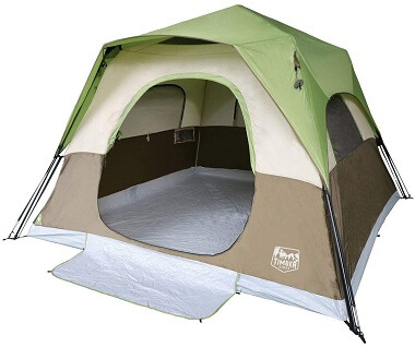 Timber Ridge 6-Person Instant Tent