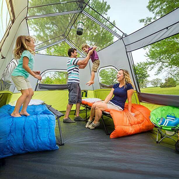 easy to set up tent