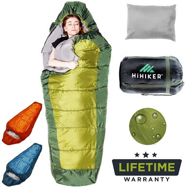 Hi-Hiker Mummy Bag