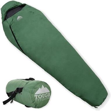 Tough Outdoors Mummy Backpacking Sleeping Bag