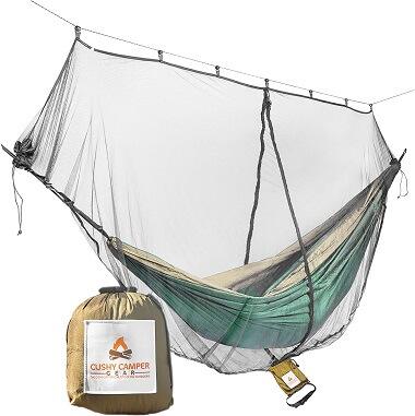 Cushy Camper Hammock Bug Net