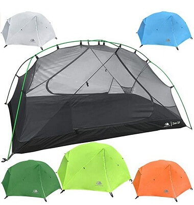 Hyke & Byke Zion Ultralight Dome Camping Tent