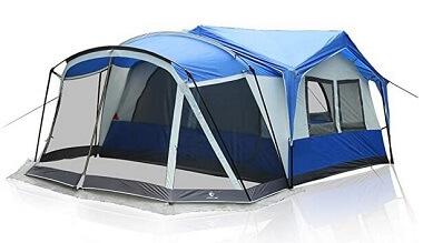 Alpha Camp 10-12 Person Cabin Tent