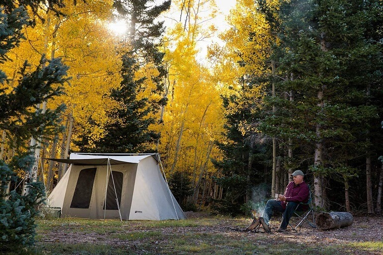 KODIAK CANVAS Family Flex-Bow Deluxe Tent
